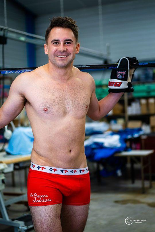 Boxer choletais rouge Seize point neuf