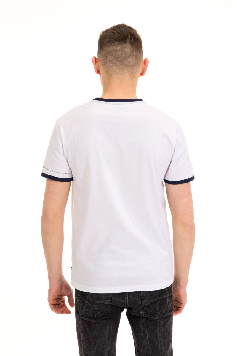 T-shirt Mickaël blanc Seize point neuf