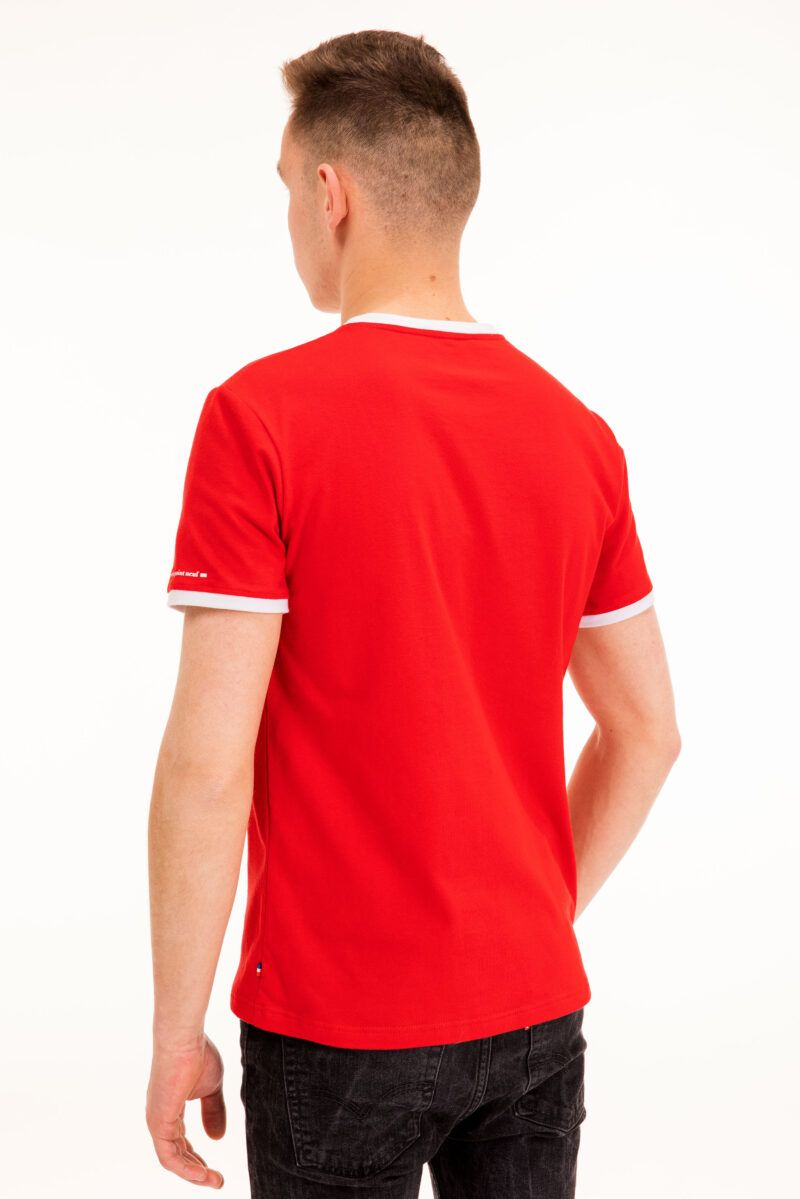 T-shirt Mickaël rouge Seize point neuf