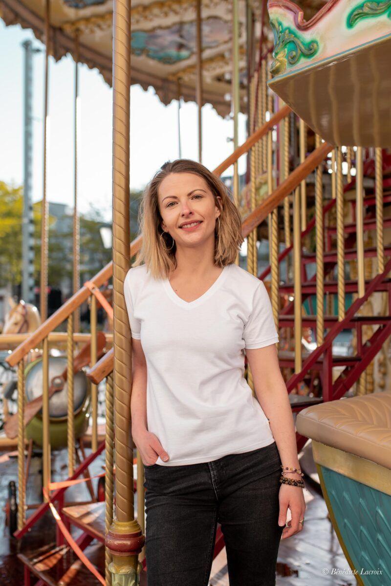 T-shirt Isabelle discret extérieur Seize point neuf