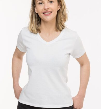T-shirt Isabelle discret blanc Seize point neuf